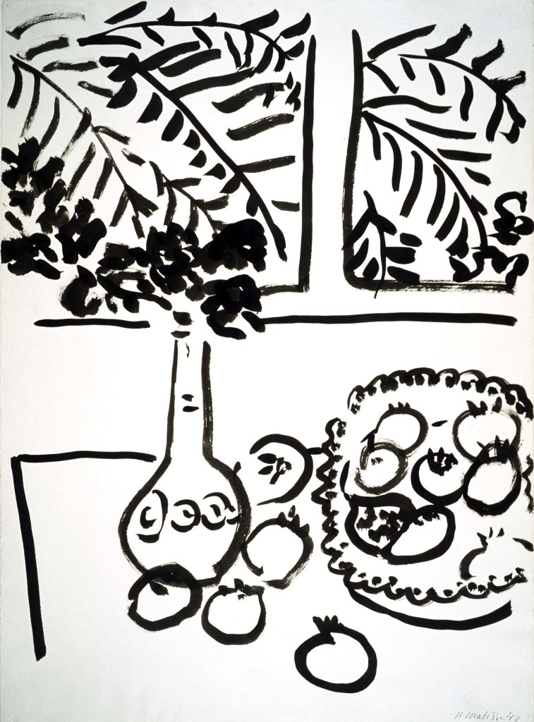 Matisse Contour Line Drawing : Picasso and matisse at detroit institute of arts
