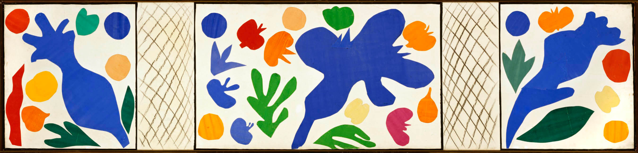 Matisse - The Wild Poppies, 1953 - print