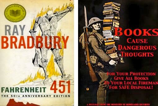 the meaning of life in fahrenheit 451 a novel by ray bradbury Fahrenheit 451 essay out books and the freedom of thought that books represent (fahrenheit 451 often there are many interpretations of one thing, and ray bradbury successfully shows the various meanings of fire through the evolution of montag's thinking.