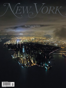 New York magazine storm cover