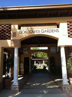 Entrance to Bok Tower Gardens