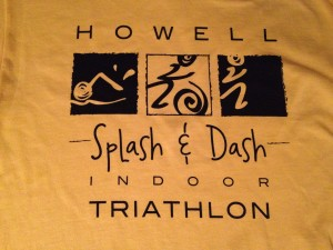 The 2013 Splash & Dash t-shirt. Because there is ALWAYS a t-shirt.