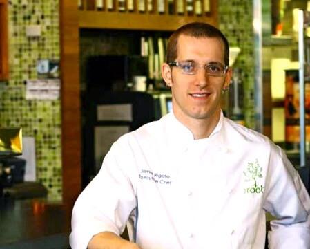 Chef James Rigato (photo courtesy therootrestaurant.com)