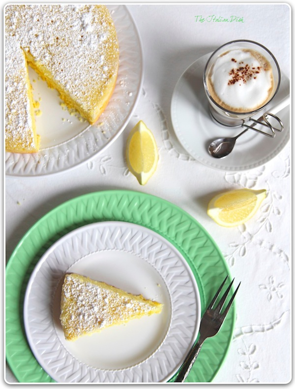 Inspired by my visit to Capri: Lemon cake