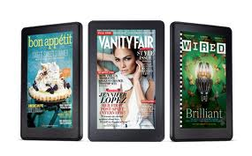 kindle magazines