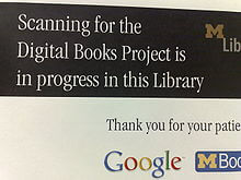 Google book scanning
