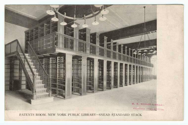 Library stacks - nypl