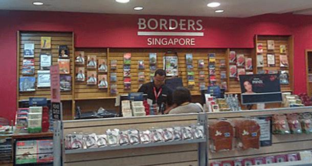 borders singapore