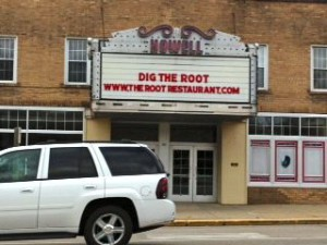 The Root marquee