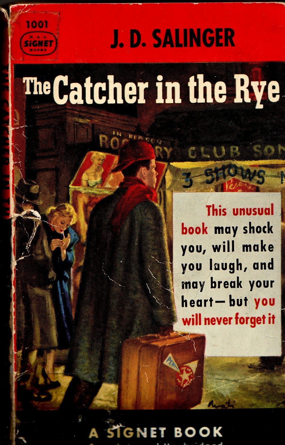 catcher in the rye song Best answer: scottish band belle and sebastian quote the book's title on their song le pastie de la bourgeoisie: wouldn't you like to get away, give yourself to the allure of catcher in the rye, the future's swathed in stars and stripes.