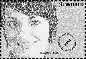 stamp - belgium