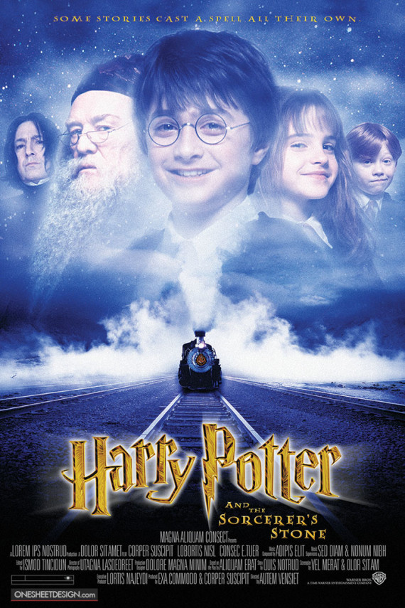 the british connection in the movie harry potter and the sorcerers stone