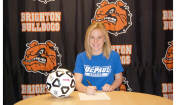 Avery Hay will play soccer at DePaul University.