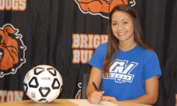 Kelly Codd has signed to play soccer at Grand Valley State University.
