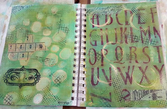 Green_Door_Studio_art_journal