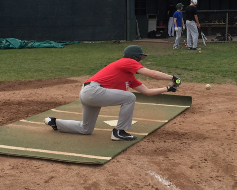 Howell's Bryan Rendell, pictured in a practice last month, scored what turned out to be the winning run on a wild pitch Thursday.