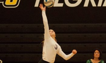 Paige Gallentine, who was named second team All-State.