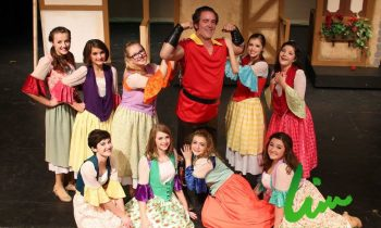 Gaston (Rick Spangler) and the Silly Girls.