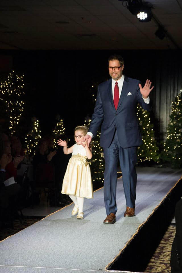 Adults and children will be on hand to model clothes from area merchants during Thursday's Celebrity Holiday Fashion Show, sponsored by the Arc of Livingston. (Submitted photo)