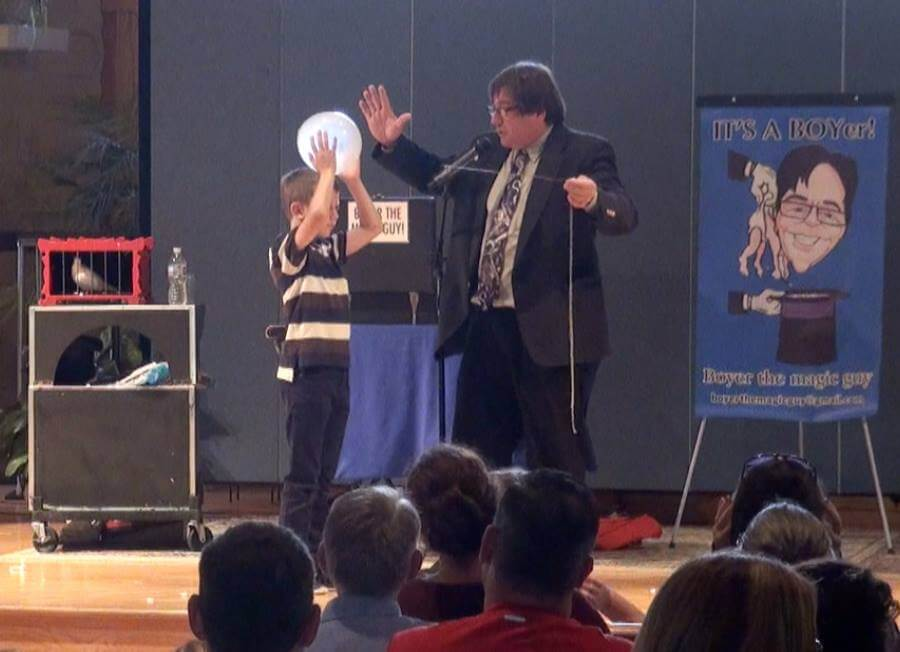 An Afternoon Of Magic Comes To Pinckney On Feb 26