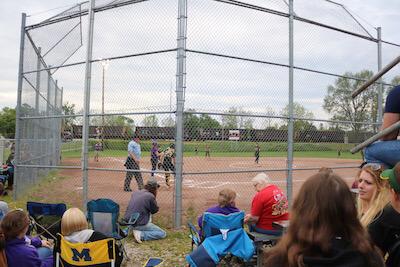 backstop howell softball