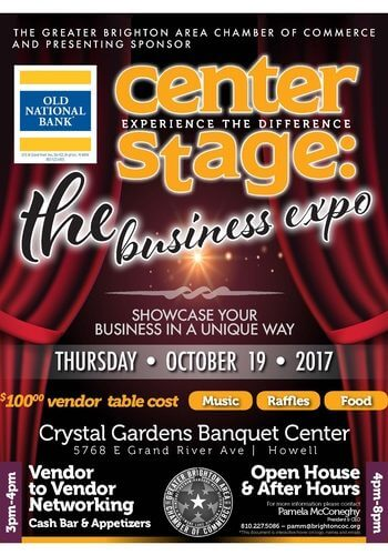 Center Stage: The Business Expo @ Crystal Gardens Banquet Center   Howell   Michigan   United States