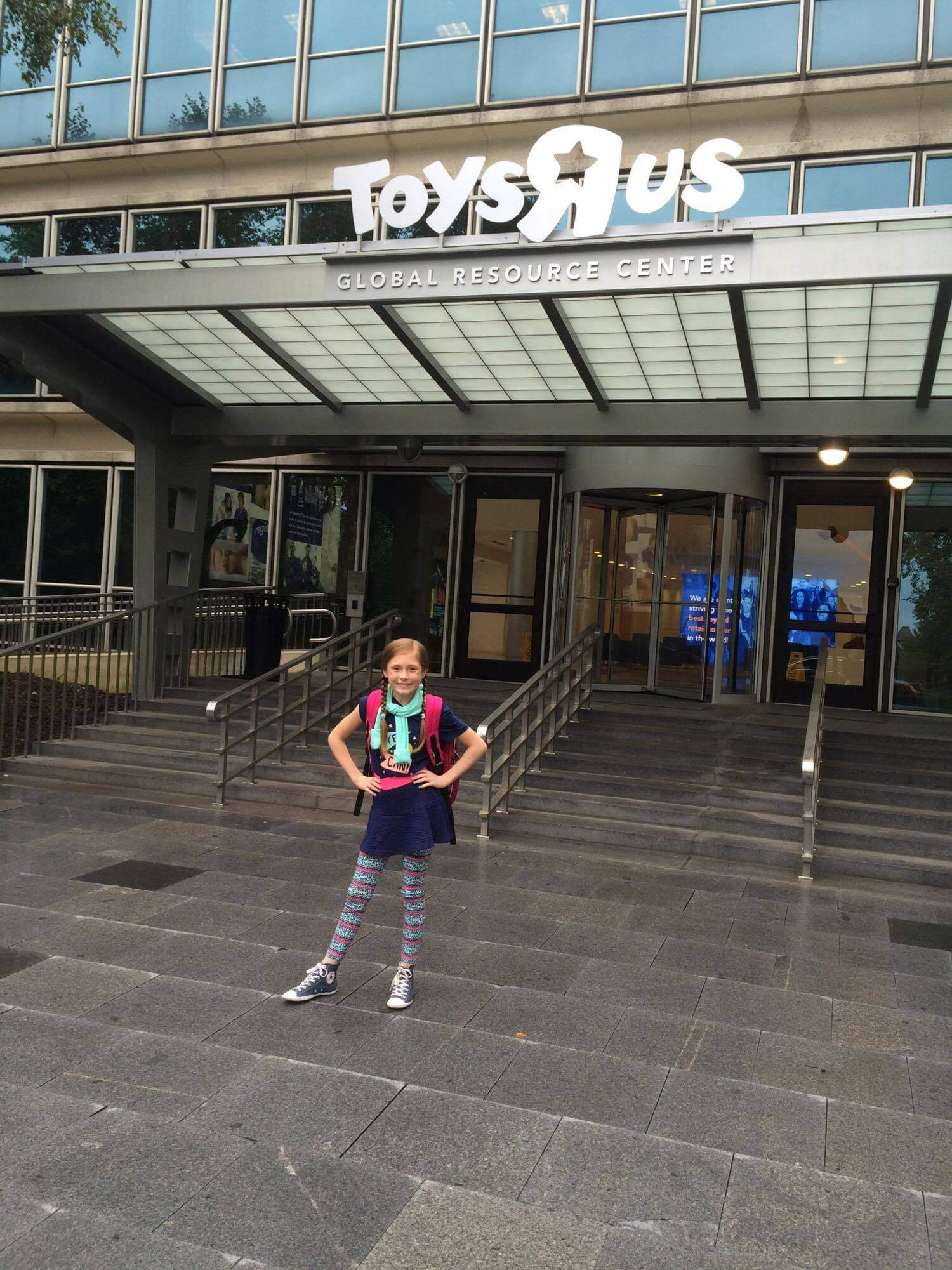 Brighton student lands 10k donation to spread kindness charlotte at the toys r us headquarters gumiabroncs Choice Image