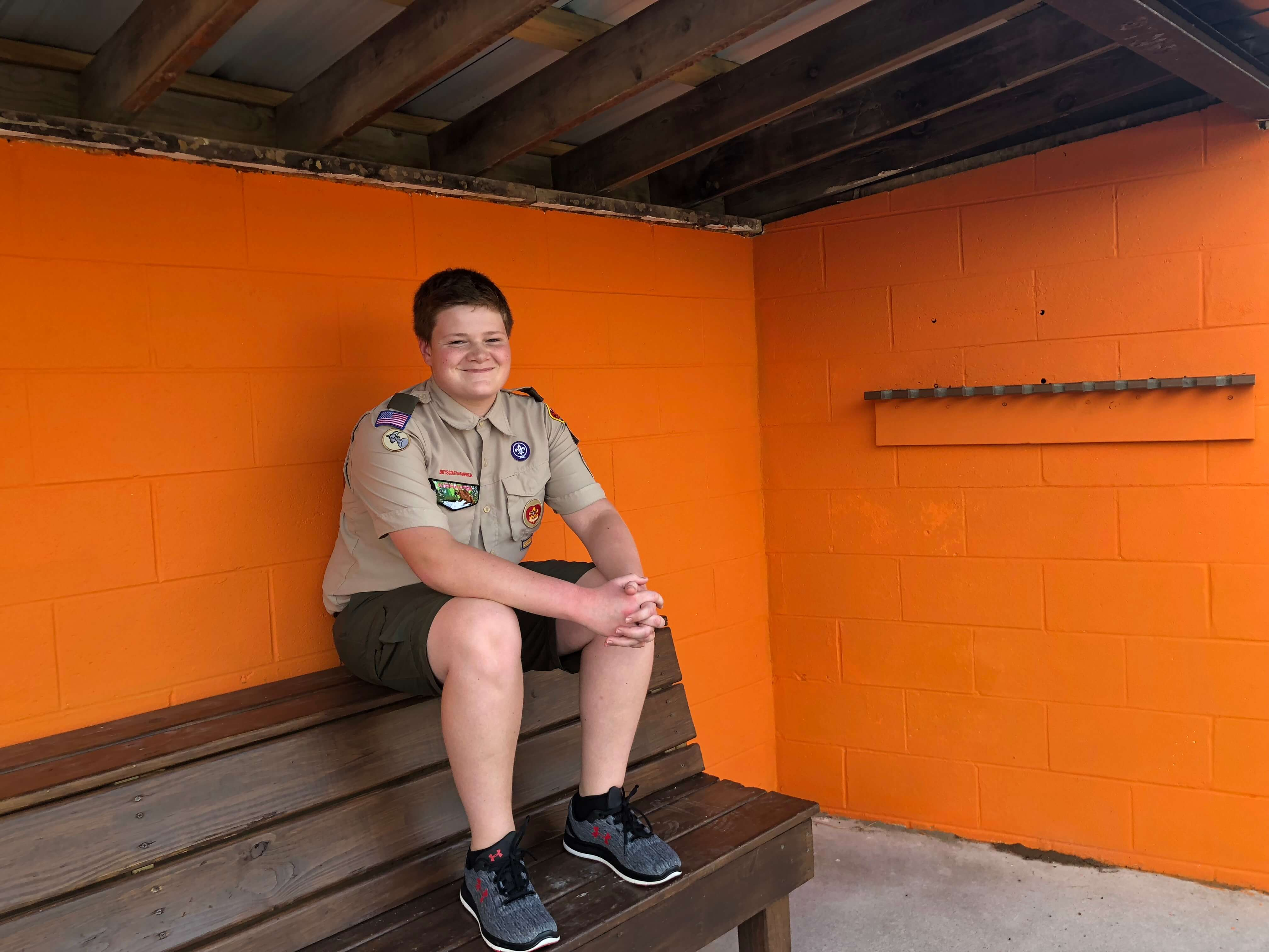 Eagle Scout Ryan Gigax