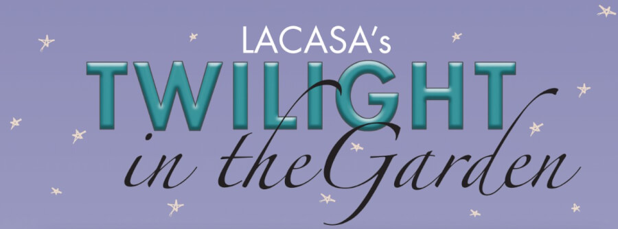 LACASA Twilight in the Garden Nameplate